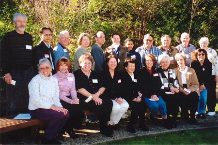 February  2002 Group of Volunteer Tutors and Trainers